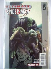 Ultimate Spider-man #25 Signed Green Goblin Sketch COA Ltd 25 Jay Company Originals